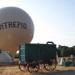 Hydrogen generator with ballon.