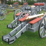Light 6 pounder in artillery park at Ft. Ligonier.