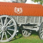 Ammunition Wagon at Ft. Ligonier.